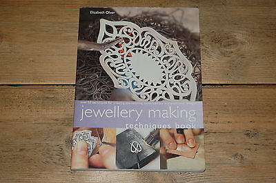 Jewellery Making Techniques Book by Elizabeth Olver