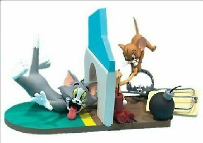 TOM and JERRY NO TRESPASSING Action figure Hanna-Barbera Series 1 (cod S37)