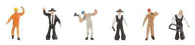 """Faller Z 158036 Figurine set """"At the Sawmill"""" New"""