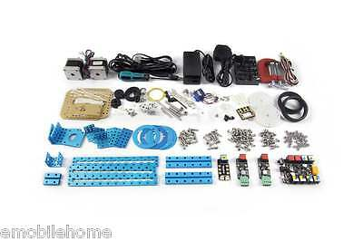 Makeblock mDrawBot Arduino DIY Robot Kit-Blue With No Lacer Pack