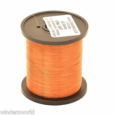 ENAMELLED COPPER WIRE - COIL WIRE, HIGH TEMPERATURE MAGNET WIRE - 250g - 0.375mm