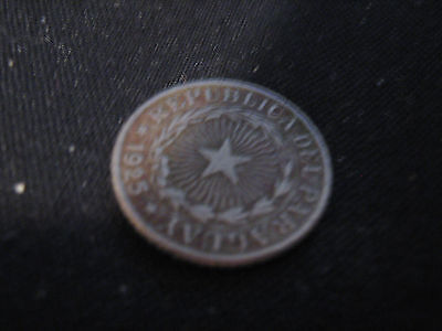 Paraguay- Coin - 1 Peso 1925