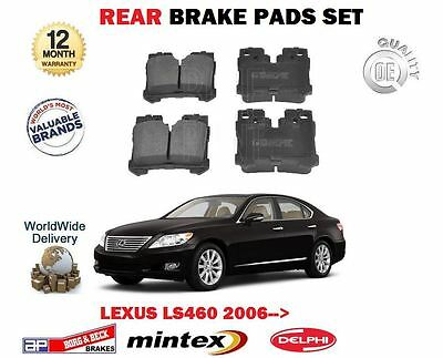 MINTEX FRONT AND REAR BRAKE PADS FOR LEXUS LS460 4.6 2006