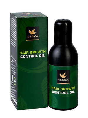 Herbal Permanent Hair Removal Oil. Natural Hair Growth Inhibitor & Moisturizer.