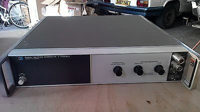 HP spectrum analyser tracking generator 8444A in clean condition collect TR9 EN8