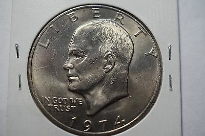 1974  USA Eisenhower Dollar
