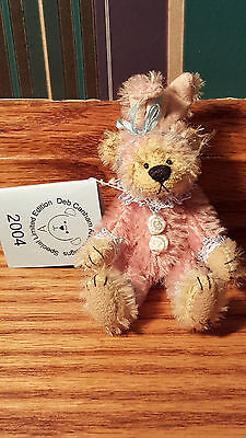 """Deb Canham """"Fru Fru"""" bear- Hold Your Heart Collection"""