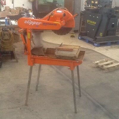 BBC 203 Norton Clipper Paver Block Saw