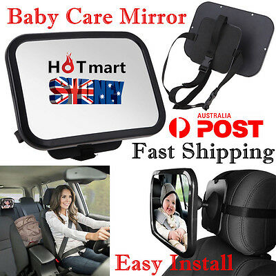 Car Baby Care Mirror Rear View Baby Rear Seat Mirror Safety Inside Kid Mirror