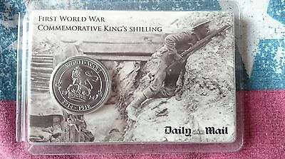 First World War Commemorative King's Shilling