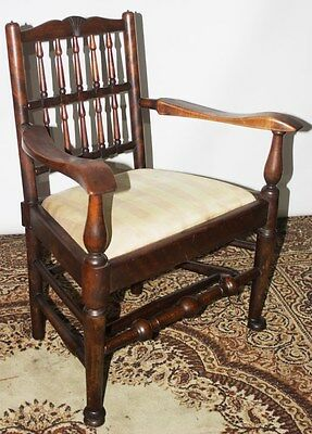 Antique Arts & Crafts mahogany Child's Chair - FREE Shipping [PL2687]