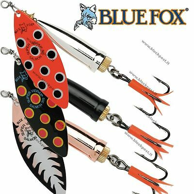 Blue Fox Super Vibrax SALMO Fishing Spinners. DIFFERENT COLORS / BFSAS6 / 33g