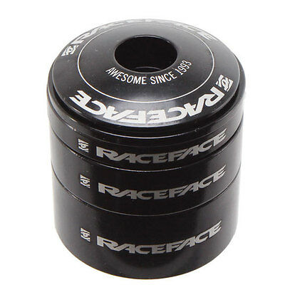 Raceface Headset Spacer Kit With Top Cap Aluminum Black
