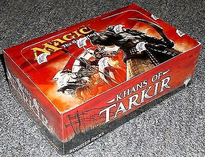 khans of tarkir booster box new sealed MTG Magic The Gathering
