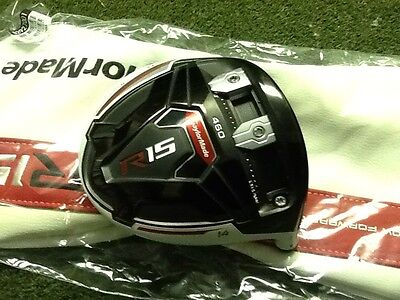 taylormade r15 driver head And Cover Only 14 Degree
