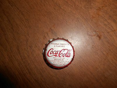 Coca-Cola 6oz Used Cork-lined Soda Bottle Cap, Hagerstown, Mo.