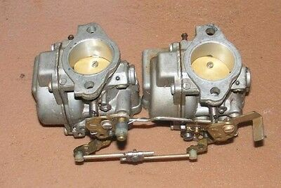 CC1A2611 1982 Evinrude 50 HP E50BELCNR Carburetor Set PN 0391787 Fits 1980-1982