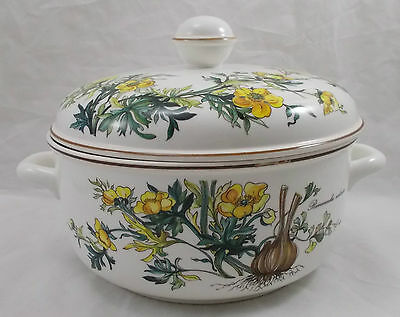 Villeroy & and Boch BOTANICA large tureen / vegetable dish with lid UNUSED