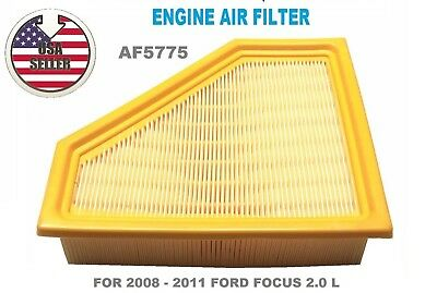 FA5775 ENGINE AIR FILTER  FOR 2008 2009 2010 2011 FORD FOCUS 2.0L..