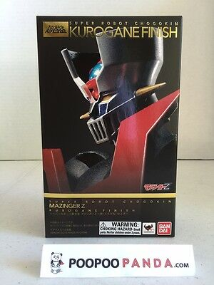 Bandai Super Robot Chogokin Mazinger Z Kurogane Finish IN STOCK USA