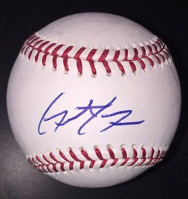 Grant Green AUTOGRAPHED SIGNED BASEBALL OMLB A's Athletics Giants Dodgers