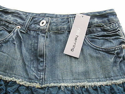 RED HERRING by Debenhams RRP€26 GIRLS DENIM SKIRT AGE 9 BRAND NEW WITH TAGS