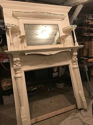 Antique Mantle - Local Pickup Only