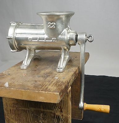 Alfa Meat Grinder 22 Stand Alone #22 Vintage Working Condition RARE