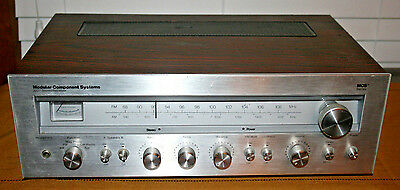 Vintage MCS Modular Component Systems 3207 Stereo Receiver MCS Series