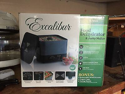 Excalibur ECB50B 5 Tray Stackable Dehydrator Used ONE Time - Near Mint