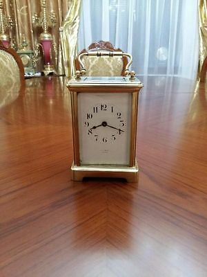 carriage antique clocks. 1903 year 8 days