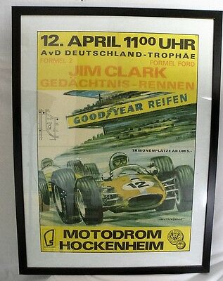 German, Formula 2 Jim Clark Memorial Race at Hockenheim, 1968
