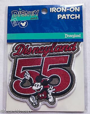 Disneyland Mickey Mouse 55 Iron On Patch