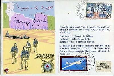 WW2 Luftwaffe 'Glorious Dozen' Battle of Britain ace signed cover