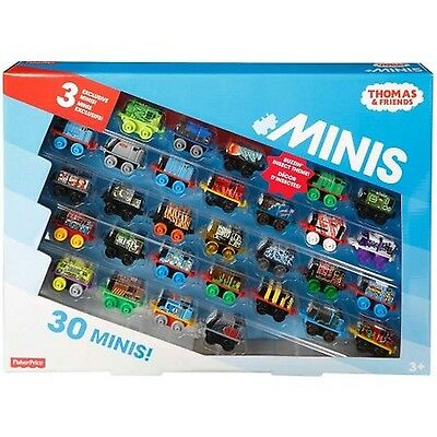 Thomas and Friends Minis 30 Pack 3 Exclusive Buzzin' Inspect Themed Engines New