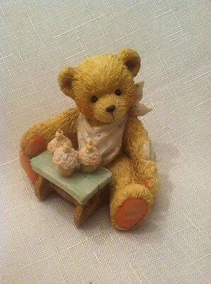 "Enesco Cherished Teddies ""Three Cheers For You"" #911313"