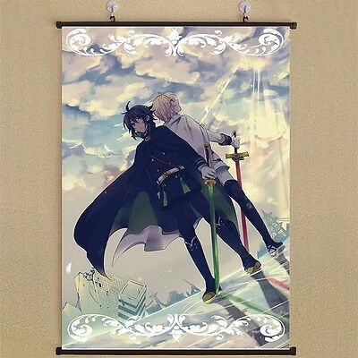 "8/""*12/""Home Decor Japan Anime Owari no Seraph Wall Poster Scroll Collection 507"