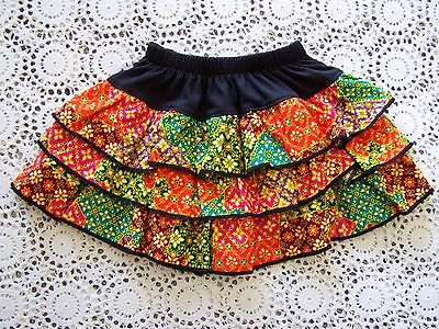 BNWOT....Multi-Coloured Tiered Skirt ....Size 1?.....
