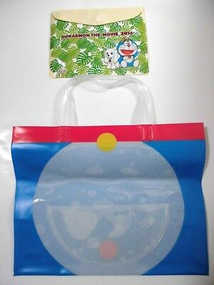 Doraemon Summer Bag with Pocket & Case Very RARE NEW Blue Japan F/S