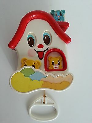 Battat Musical Baby Pull String Toy All Around the Mulberry Bush