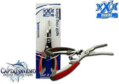 Xxx Marine Stainless Steel Split Ring Fishing Tool Pliers Ft3