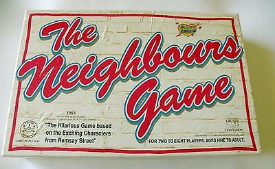 The Neighbours Vintage Board Game - VGC - 100% Complete - 1988