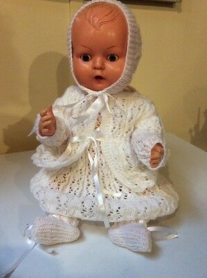 Beautiful Large 51cm Vintage Kader OK 3520 Doll Great Condition For Age 1950's