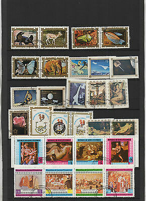 C760. Guinee Equatoriale. 2 Pages Timbres Obliteres