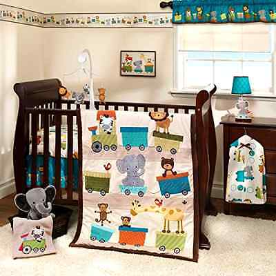 Crib Bedding Set Baby 3 Piece Nursery Girl Boutique Boy Pcs Infant Sales Animals