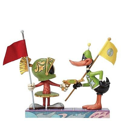 NEW OFFICIAL Looney Tunes Marvin The Martian & Daffy Duck Figurine 4049388