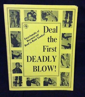 Deal the First Deadly Blow - Encyclopedia of Hand to Hand Combat