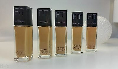 2,97€/10ml Maybelline Jade Fit Me ! Make Up Liquid Foundation 30ml Neu