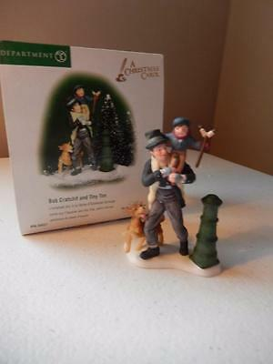 Department 56 Dickens (HTF) BOB CRATCHIT AND TINY TIM #56.58537