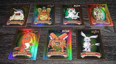 7 Digimon Holo Foil Karten Auswahl Insert Cards Animated Series 2